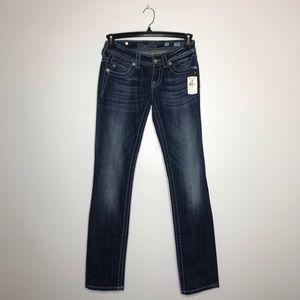 NWT Miss Me Straight Denim Jeans